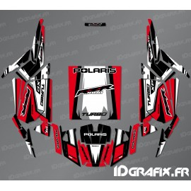Kit de decoración de la Recta Edición (Rojo)- IDgrafix - Polaris RZR 1000 Turbo -idgrafix