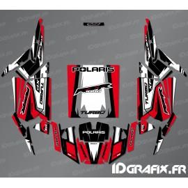 Kit dekor Straight Edition (Rot)- IDgrafix - Polaris RZR 1000 Turbo-idgrafix