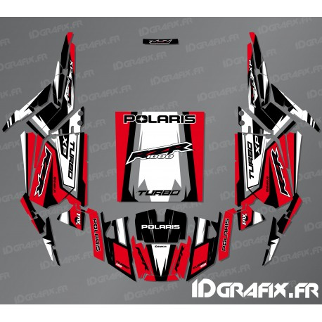 Kit décoration Straight Edition (Rouge)- IDgrafix - Polaris RZR 1000 Turbo-idgrafix