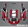 Kit de decoración de la Recta Edición (Rojo)- IDgrafix - Polaris RZR 1000 Turbo