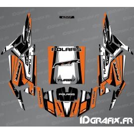Kit decoration Straight Edition (Orange)- IDgrafix - Polaris RZR 1000 Turbo-idgrafix