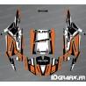 Kit décoration Straight Edition (Orange)- IDgrafix - Polaris RZR 1000 Turbo