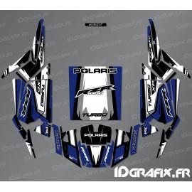 Kit décoration Straight Edition (Bleu)- IDgrafix - Polaris RZR 1000 Turbo