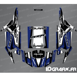 Kit décoration Straight Edition (Bleu)- IDgrafix - Polaris RZR 1000 Turbo
