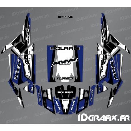 Kit décoration Straight Edition (Bleu)- IDgrafix - Polaris RZR 1000 Turbo-idgrafix