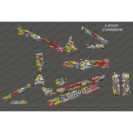 Kit deco Bomba Edició Completa, Especialitzada Levo de Carboni -idgrafix