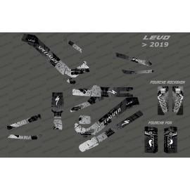 Kit-deco-Brush Edition Full (Grau) - Specialized-Levo (nach 2019)-idgrafix