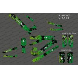 Kit-deco-Brush Edition Full (Grün) - Specialized-Levo (nach 2019)-idgrafix
