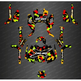 Kit decoration Camo Color Full Edition - Can Am Outlander G2 - IDgrafix