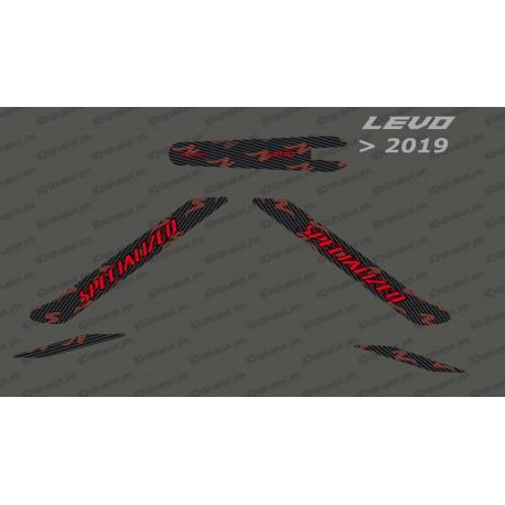 Kit deco Carboni Edició de la Llum (Vermell) - Levo (després de 2019) -idgrafix