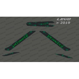 Kit deco Carbon Edition Light (Green) - Levo (after 2019)