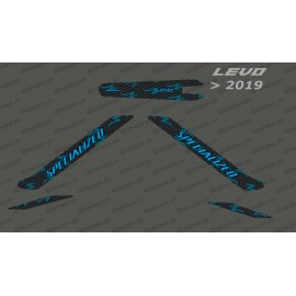 Kit deco Carbon Edition Light (Blue) - Levo (after 2019)