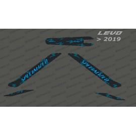 Kit deco Carbon Edition Light (Blue) - Levo (after 2019)