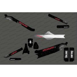 Kit deco spyder Edizione Completa (Rosso) - Specializzata Levo Carbonio -idgrafix