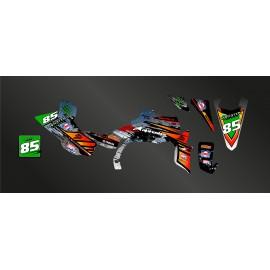 Kit de decoración de Arena Edition - Gris IDgrafix - Yamaha YFZ 450 / YFZ 450R