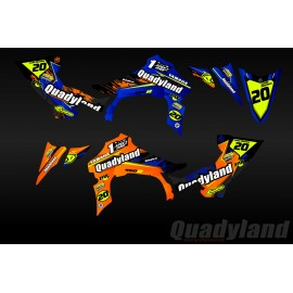 Kit de decoració Quadyland Edició - IDgrafix - Yamaha YFZ 450 / YFZ 450R -idgrafix