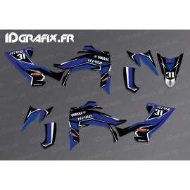Kit de decoración de la Hoja de Edición (Azul) - IDgrafix - Yamaha YFZ 450 / YFZ 450R