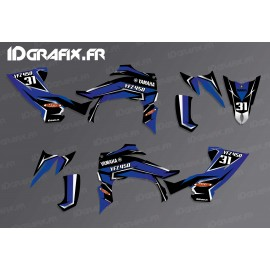 Kit decoration Blade Edition (Blue) - IDgrafix - Yamaha YFZ 450 / YFZ 450R-idgrafix