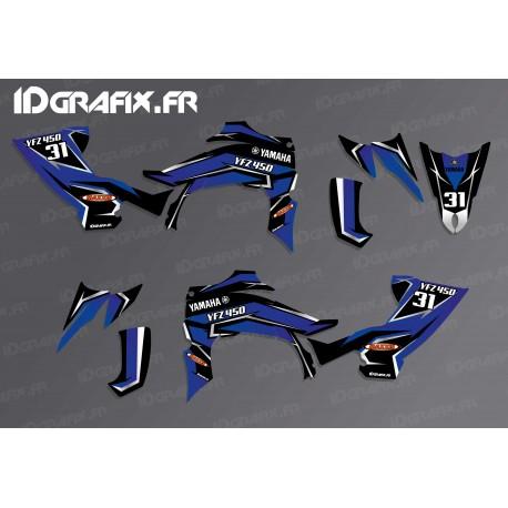 Kit décoration Blade Edition (Bleu) - IDgrafix - Yamaha YFZ 450 / YFZ 450R-idgrafix
