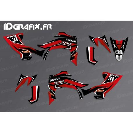 Kit décoration Blade Edition (Rouge) - IDgrafix - Yamaha YFZ 450 / YFZ 450R-idgrafix