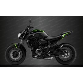 Kit decorazione Linea Verde Neon - IDgrafix - Yamaha MT-07 (dopo il 2018) -idgrafix