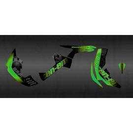 Kit de decoración de BRP Verde Edición Completa (Verde) - IDgrafix - Can Am Renegade -idgrafix