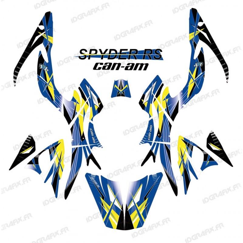Kit dekor Geometric Blau - IDgrafix - Can-Am Spyder RS