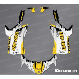 Kit décoration Race Edition (jaune) - Idgrafix - Can Am Maverick Trail