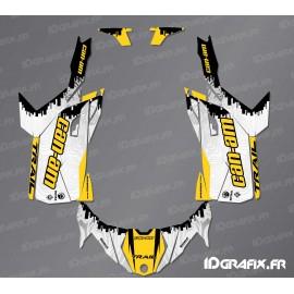 Kit decoration Race Edition (yellow) - Idgrafix - Can Am Maverick Trail - IDgrafix