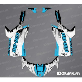 Kit décoration Race Edition (Bleu) - Idgrafix - Can Am Maverick Trail