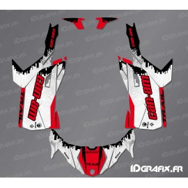 Kit décoration Race Edition (Rouge) - Idgrafix - Can Am Maverick Trail