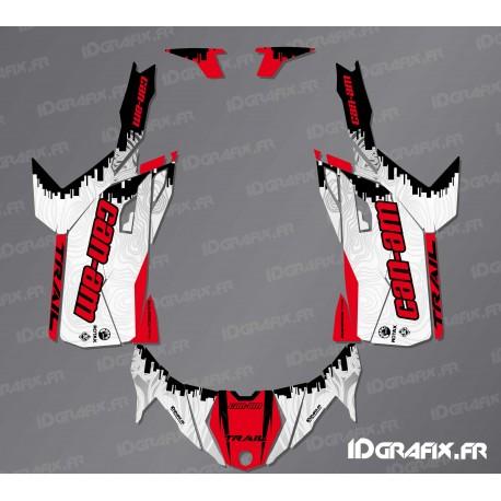 Kit décoration Race Edition (Rouge) - Idgrafix - Can Am Maverick Trail-idgrafix