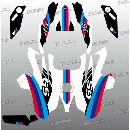 Kit déco Factory Edition (Blanc)- BMW GS 1200-idgrafix
