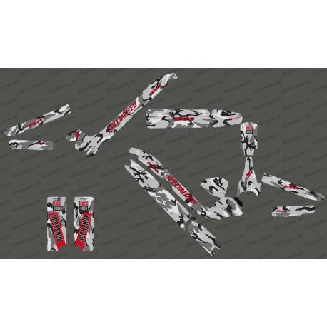 Kit déco Camo Edition Full (Rouge) - Specialized Kenevo-idgrafix