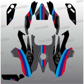 Kit-deco-Factory-Edition (Grau)- die BMW GS 1200-idgrafix