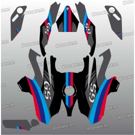 Kit-deco-Factory-Edition (Schwarz)- BMW GS 1200-idgrafix