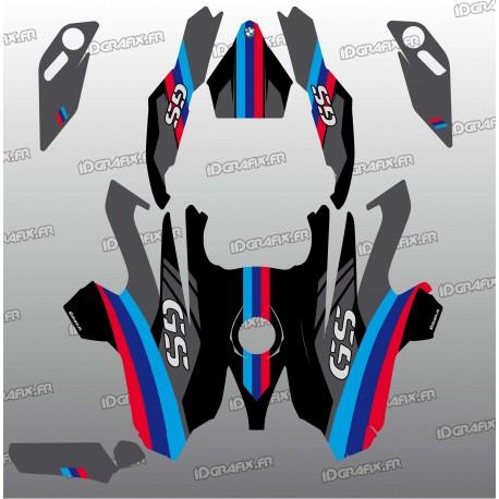 Kit déco Factory Edition (Noir)- BMW GS 1200-idgrafix
