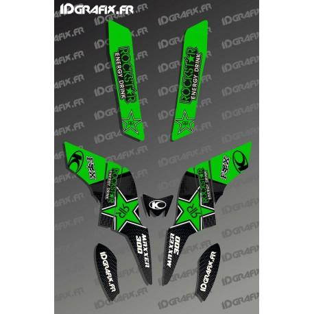 Kit Déco Rockstar Edition (Vert) - Kymco 300 Maxxer-idgrafix