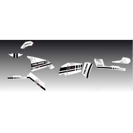 Kit dekor White Series - IDgrafix - Polaris Sportsman 800