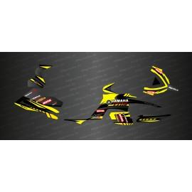 Kit de decoración de la Carrera de Edición (Amarillo) - IDgrafix - Yamaha Raptor 700