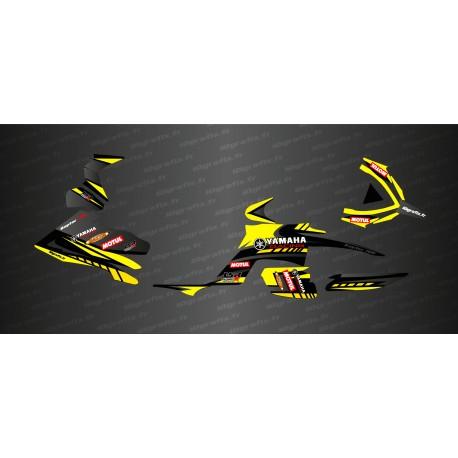 Kit décoration Race Edition (Jaune) - IDgrafix - Yamaha 700 Raptor-idgrafix