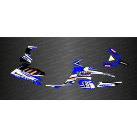 Kit de decoración de la Carrera de Edición (Azul) - IDgrafix - Yamaha Raptor 700