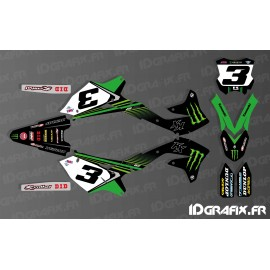 Kit deco Eli Tomac 2018 Replica for Kawasaki KX/KXF - IDgrafix