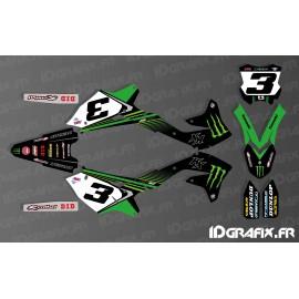 Kit deco Eli Tomac 2018 Replica for Kawasaki KX/KXF - IDgrafix