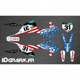Kit-deco-Geico Team USA Replikat KTM SX 50-65-85-idgrafix