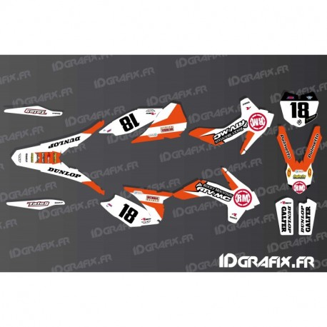Kit deco Blake Baggett Réplica KTM SX 50-65-85-idgrafix