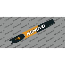 Adesivo di protezione della Batteria - Kenevo Edizione (Arancione) - Specialized Turbo Kenevo -idgrafix