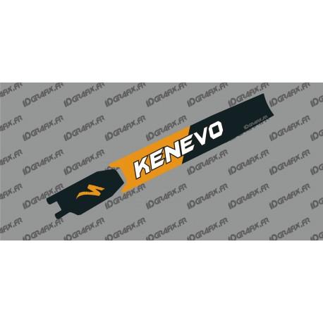 Sticker protection Batterie - Kenevo Edition (Orange) - Specialized Turbo Kenevo-idgrafix