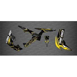 Kit decoration Maze Edition Full (Yellow) - IDgrafix - Can Am Renegade-idgrafix