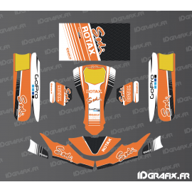 Kit déco Race Edition (Orange) pour Karting SodiKart
